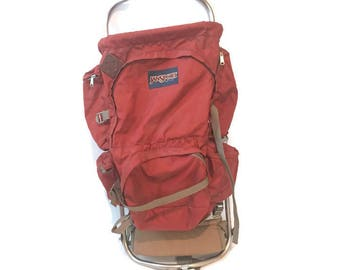 Vintage Hiking /Camping JanSport Backpack