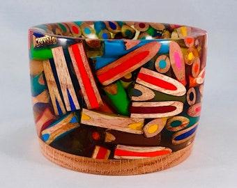 Colored Pencil Bowl 6
