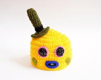 Mr. Dinkles  From Trolls - Premie, Newborn Photo Prop/ Halloween/ Cosplay Wig/ Baby Shower Gift