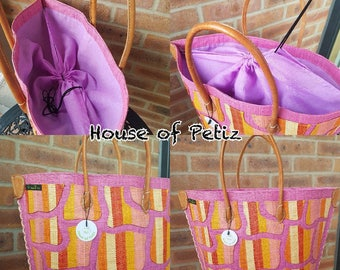 10% Discount use code BAGS10 -  Large Handmade Jute Bag