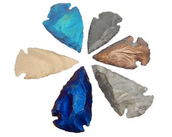 Arrowhead - Mystic Titanium Arrowhead Perfect for wire wrapping-- (RK30B2)