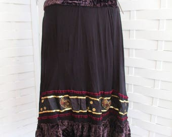 Rinascimento New Never Worn Vintage Cose Cosi Gonna Skirt!  Made in Italy, Beautiful Detail And Fun To Wear.