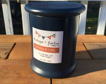 Whisky + Cola // 12oz Soy Candle // Wood Wick