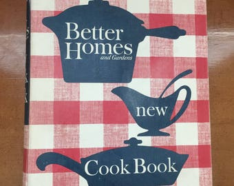 Better Homes and Gardens New Cook Book 1962 Revised Edition First Printing