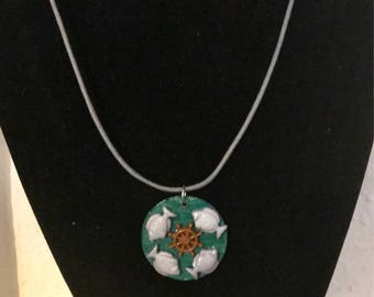 Beside the Sea  - Fish Necklace