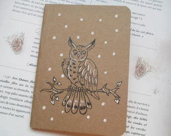 "Book - ""OWL"" Kraft notebook"