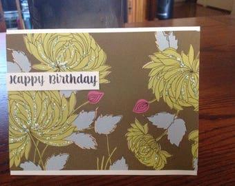Textured birthday card (3)