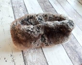 Faux Fur Headband, Womens Faux Fur Headband, Girls Faux Fur Hat, Womens Headband, Faux Fur Ear Warmers, Toddlers Headband, Faux Fur Hat