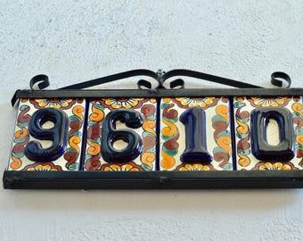Talavera House Numbers