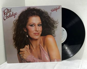Rita Coolidge Satisfied vinyl record 1979 Pop Ballad Disco VG+