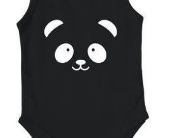 DIY Iron On Transfer Panda Print Heattransfer | Various colors & sizes available