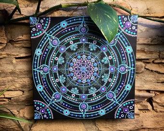 Mandala Painting - Mandala Dot Painting - Acrylic Painting