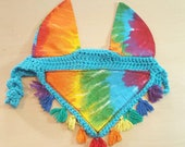 Horse Fly Bonnet Ear Veil...