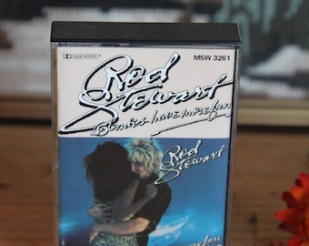 "Rod Stewart ""Blondes Have More"" Fun Cassette Tape -M5W 3261"