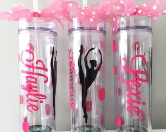 Dancer Easter Gift, Dance Team, Personalized Tumbler for Dancer, Dance Teacher Gift,  Ballet Dancer, Recital Gift,