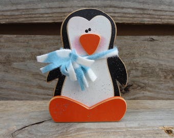 Winter decor - Penguin Decor - Winter Decorations - Penguin Home set interchangeable O