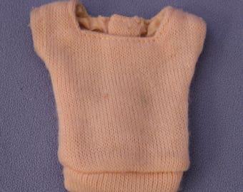 Vintage Barbie PAK Pink Square Neck Sweater, EXC