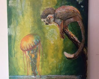 The Monkey and the Jellyfish