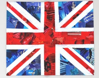 Union jack blanket Etsy