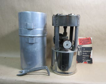 Vintage Coleman 530 GI Pocket Stove B-47 Military Campstove in Case with Paperwork