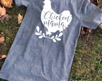 Chicken mama tee