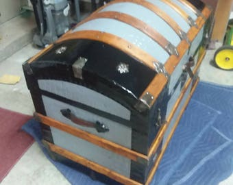 Steamer Trunk Dome Top