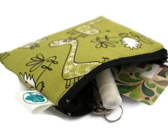 Coin Purse - Coin Bag - Change Purse - Small Cosmetic Bag - Zipper Pouch - Change Pouch in Africa