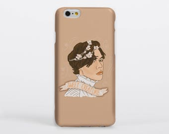 Sweet Creature Phone Case iPhone Samsung Gloss Matte Tough Flip Slip One Direction Harry Styles Portrait Drawing Illustration