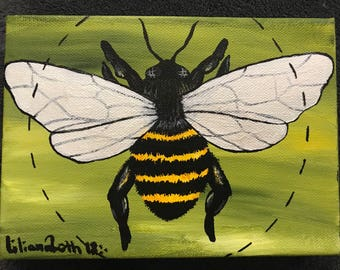 Fluffy Bee