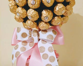 Ferrero Rocher Edible Topiary