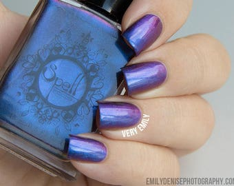 SPELL POLISH Magichromes™: Magic Happens ~Escaping Gravity~ multichrome nail polish!