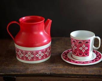 Vintage Child's Tea Set - Six Peices