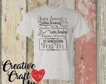 Jesus Loving Coffee Drinking - CC - 100% Cotton Shirt