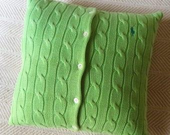 Hand-fashioned designer pillow