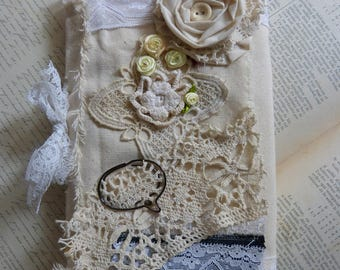 """Guestbook """"wedding / union / baptism""""-2 flowers"""