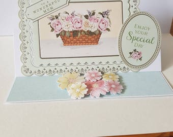 Handmade Birthday Mum Card