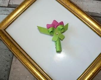 Pink Tulip Pin