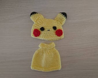 Set for BJD Tiny Pikachu