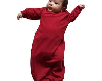Coochycoo newborn merino gown - free shipping within NZ!