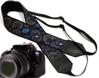 Speedometer camera strap. Car camera strap.  DSLR / SLR Camera Strap. Camera accessories by InTePro