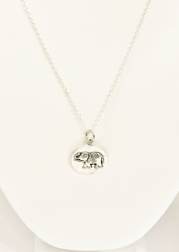 Good Luck Jewelry, Good Luck Necklace, Elephant Jewelry, Elephant Necklace, Good Luck Charm, Wishing You Good Luck, Elephant Gifts For Her