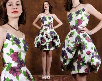Vintage dress - prom dress - vintage 50s dress - 50s dress - Party dress - cocktail dress - 1950 - XS dress