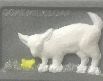 The ultimate goat milk soap - 100% pure goat's milk with a goat on the front!