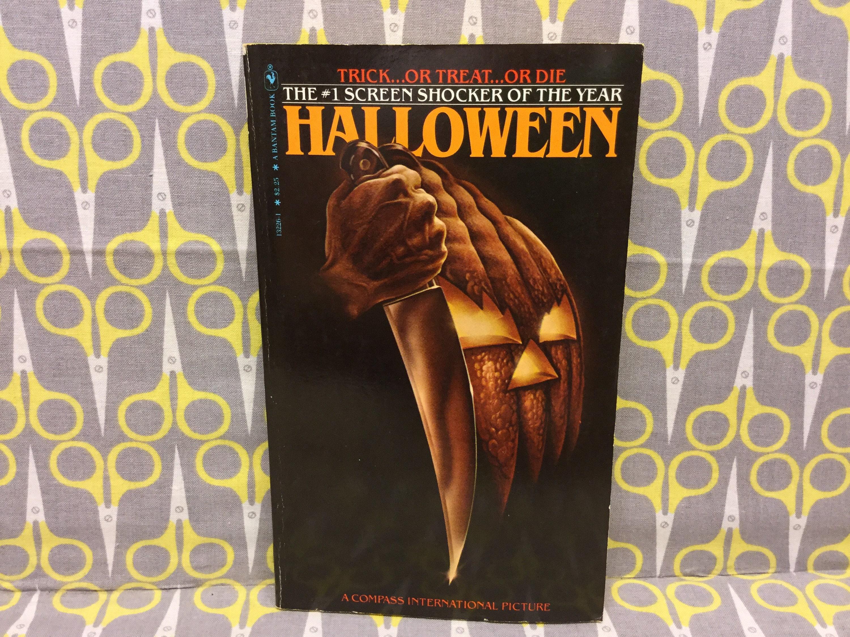 Halloween by curtis richards paperback book third printing