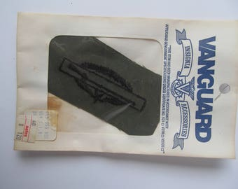 Vietnam War Era - Combat Infantry Patch - CIB with Star - Second Award - by Vanguard - Vintage Military