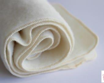 SALE! Natural mattress protector, organic wool mattress protector, wool puddle pad, elimination communication, crib mattress pad