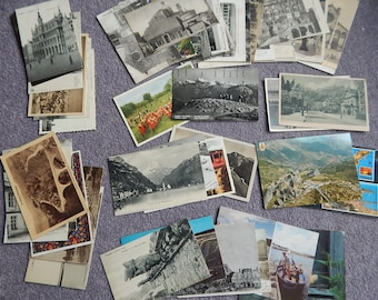 Lot 50 Postcards European Countries