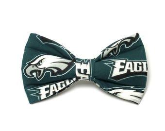 Philadelphia Eagles Dog Bow Tie, Cat Bow Tie, pet bow tie, collar bow tie, wedding bow tie, new england