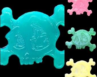 """Small original soap """" SKULL """" pirate - goth"""