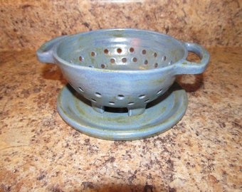 Small Colander/Berry Bowl (Blue)